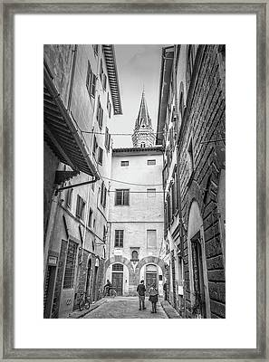 Florence Street Framed Print