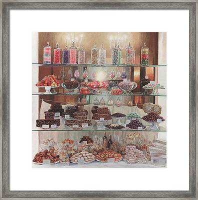 Florence Sweety Shop Framed Print