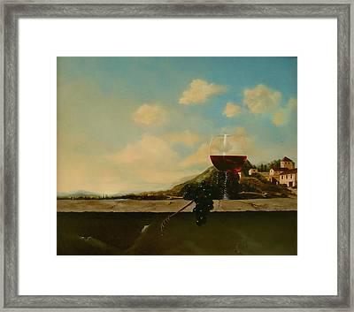 Florence Framed Print by Tjerk Reijinga