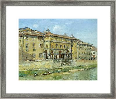 Florence Framed Print by William Merritt Chase