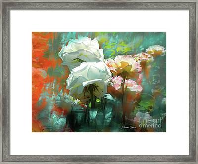Flores De Junio Framed Print