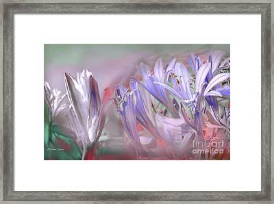 Flores De Verano Framed Print