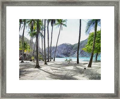 Florida Beach Framed Print by Murphy Elliott