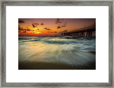 Florida Breeze Framed Print by Edgars Erglis
