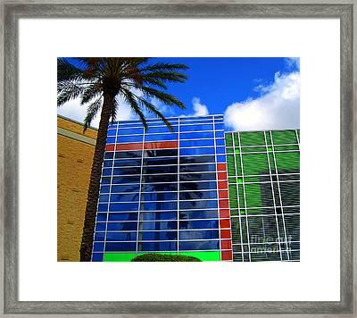 Florida Colors Framed Print