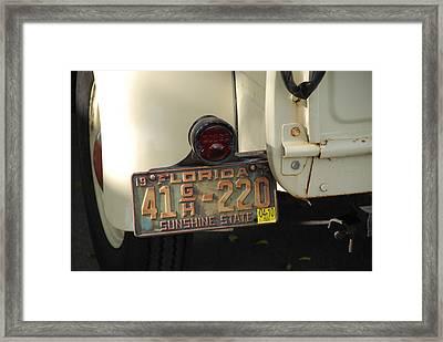 Florida Dodge Framed Print by Rob Hans