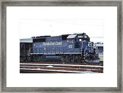 Florida East Coast 412 Framed Print