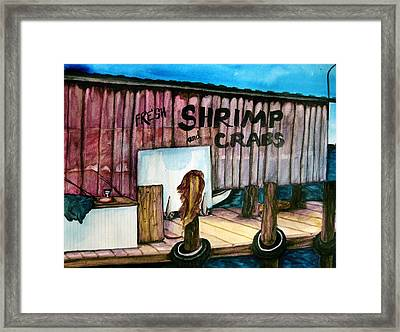 Framed Print featuring the painting Florida Fresh by Lil Taylor
