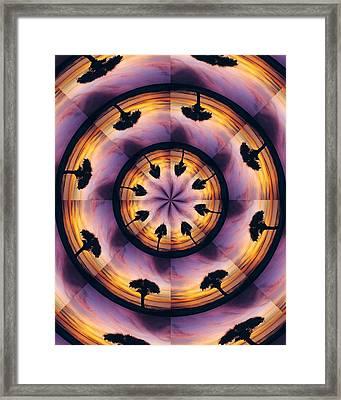 Framed Print featuring the digital art Florida Fun by Peg Urban