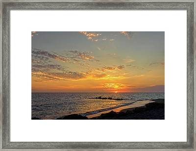 Florida Gulf Coast Sunset  - Casper937 Framed Print