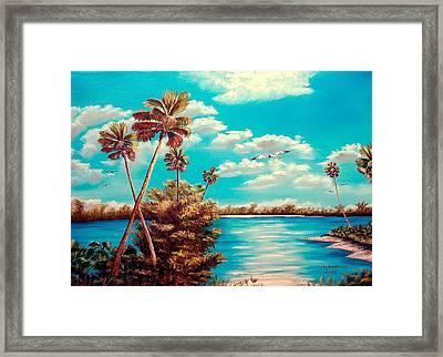 Florida Hideaway Framed Print by Riley Geddings
