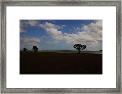 Florida Keys Framed Print by Dennis Curry