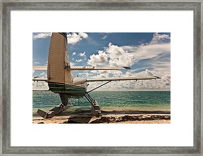Florida Keys Seaplane Framed Print by Patrick  Flynn