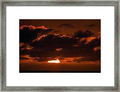 Florida Keys Sunrise Framed Print