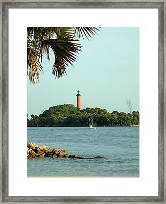 Florida Lighthouse 3 Framed Print