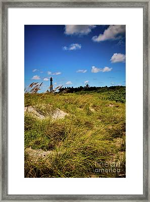 Framed Print featuring the photograph Florida Lighthouse  by Kelly Wade