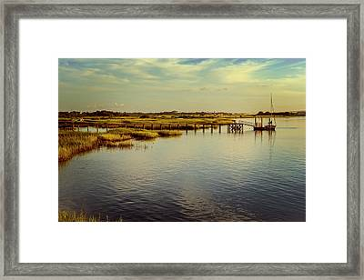 Florida Morning Framed Print