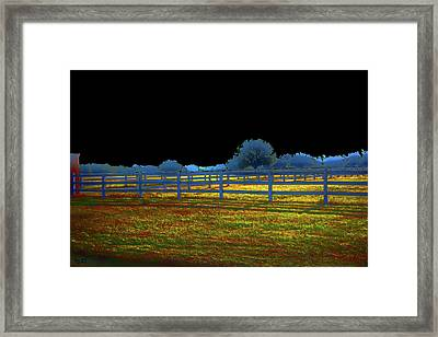 Florida Ranchland Framed Print