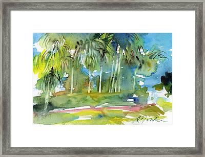 Florida Trip No.13 Framed Print