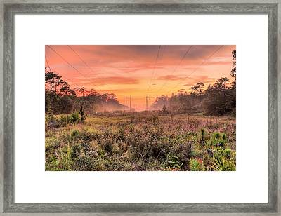 Florida Where The Mundane Becomes Magical Framed Print by JC Findley