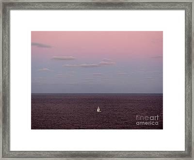 Florida Winter Framed Print