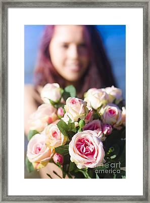 Florist Framed Print by Jorgo Photography - Wall Art Gallery