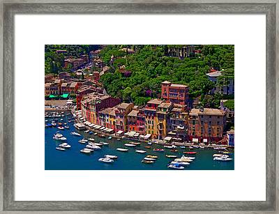Flotilla Framed Print