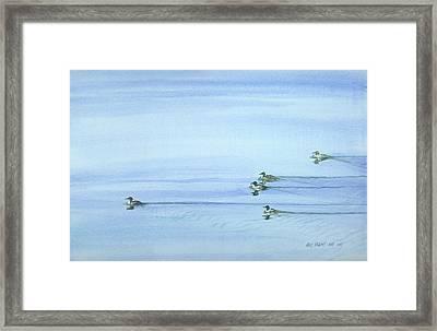 Flotilla Framed Print by Kris Parins