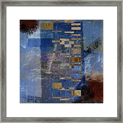 Flotsam Square Format Framed Print by Carol Leigh