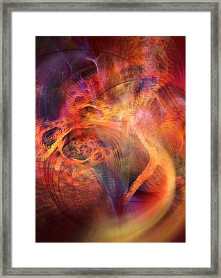 Flow 2 Framed Print