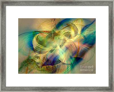 Flow 3 Framed Print