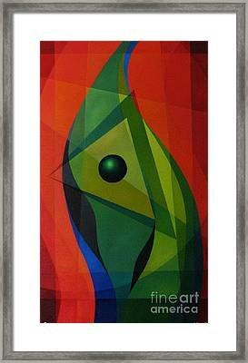 Flow Framed Print by Alberto D-Assumpcao