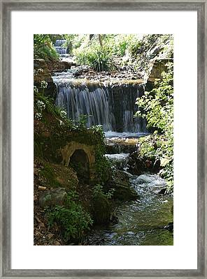Flow And Flow Framed Print by Jez C Self