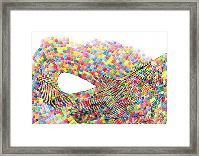 Flow Framed Print by Andy  Mercer