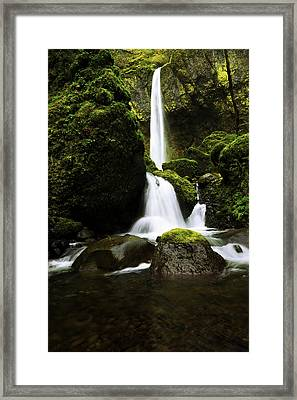 Flow Framed Print by Chad Dutson