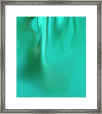 Flow Framed Print by Eileen Shahbazian
