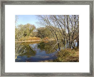 Flow Gently Sweet Afton Framed Print by Paula Prindle