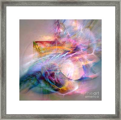 Flow Framed Print