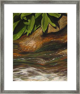 Flow Framed Print by Hunter Jay