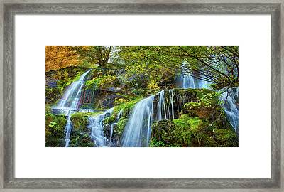 Framed Print featuring the photograph Flow by John Poon