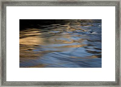 Framed Print featuring the photograph Flow by Kenneth Campbell