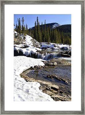 Flow Framed Print