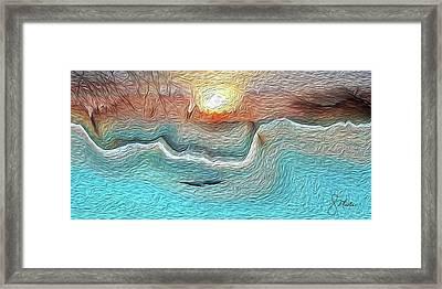 Flow Of Creation Framed Print