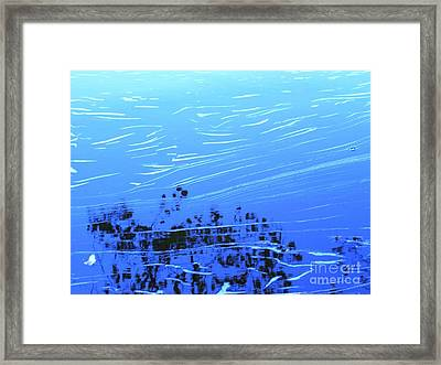 Flow Of Life Framed Print