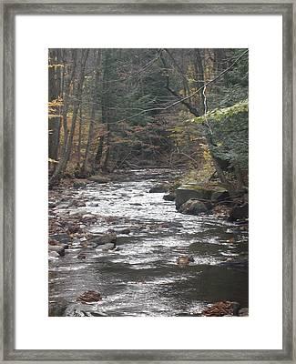 Flow Framed Print by Scott Harrington