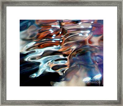 Flow Framed Print by Terril Heilman