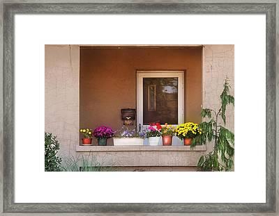 Flower - Still - Thinking Of Spring Framed Print by Mike Savad