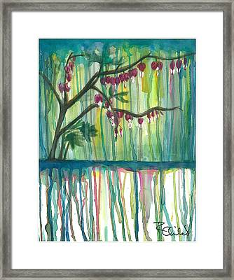 Flower #3 Framed Print by Rebecca Childs