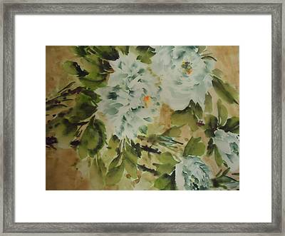 Flower -727-2 Framed Print