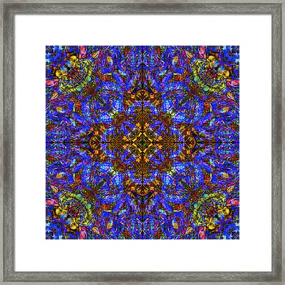 Flower Abstract 10 Framed Print by Mike McGlothlen